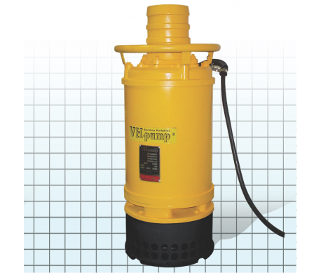 "VH-2208UT Bomba sumergible para aguas pluviales, residuales, lodosas, Marca VH-Pump, 8"", 3 Fases, 440 Volts, 20 Hp"