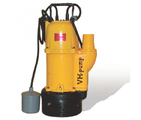 "UO-75KB Bomba sumergible con electroniveles de flotación tipo pera, Marca VH-Pump, 2"", 1 Fase, 115 Volts, 1 Hp"
