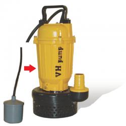"""UO-40LA Bomba sumergible con electroniveles de flotación tipo pera, Marca VH-Pump, 2"""", 1 Fase, 115 Volts, 0.5 Hp"""