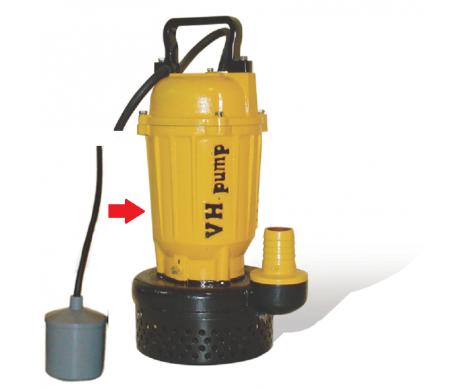 """UO-75LA Bomba sumergible con electroniveles de flotación tipo pera, Marca VH-Pump, 2"""", 1 Fase, 115 Volts, 1 Hp"""