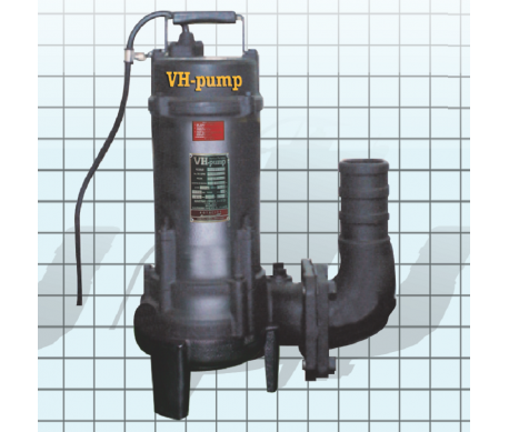 "VH-33DSNT Bomba sumergible para aguas negras, Marca VH-Pump, 3"", 3 Fases, 220 Volts, 3 Hp"