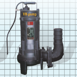 "VH-48DSNT Bomba sumergible para aguas negras, Marca VH-Pump, 4"", 3 Fases, 220 Volts, 7.5 Hp"