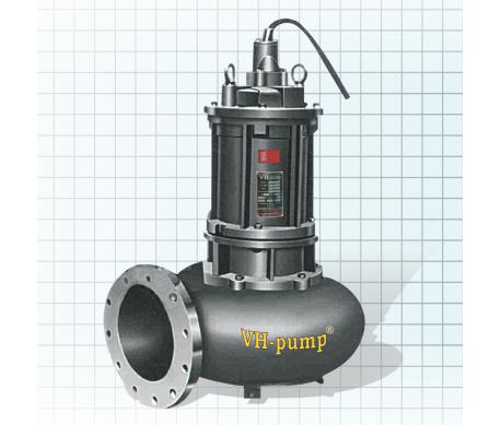 "VH-415DSNT Bomba sumergible para bombeo de grandes cantidades de aguas negras, Marca VH-Pump, 4"", 3 Fases, 220 Volts, 15 Hp"