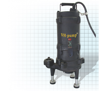 "VH-221GFT Bomba trituradora de sólidos blandos y textiles suspendidos en agua, Marca VH-Pump, 1.25"", 3 Fases, 220 Volts, 2 Hp"