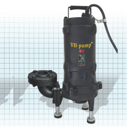 "VH-232GFT Bomba trituradora de sólidos blandos y textiles suspendidos en agua, Marca VH-Pump, 2"", 3 Fases, 220 Volts, 3 Hp"