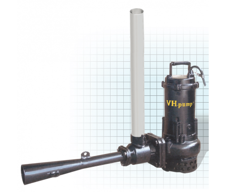 "VH-11JPT Bomba sumergible para oxigenar agua estancada, evita lama y moho, Marca VH-Pump, 1"", 3 Fases, 220 Volts, 1 Hp"