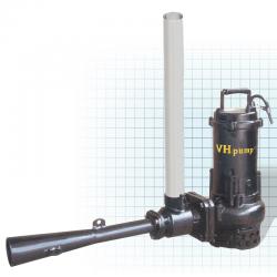 "VH-25JPT Bomba sumergible para oxigenar agua estancada, evita lama y moho, Marca VH-Pump, 2"", 3 Fases, 220 Volts, 5 Hp"