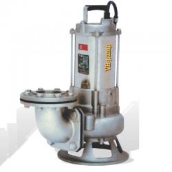 """VHJ-223T Bomba sumergible en acero inoxidable para bombeo de agua con químicos, Marca VH-Pump, 3"""", 3 Fases, 220 Volts, 2 Hp"""