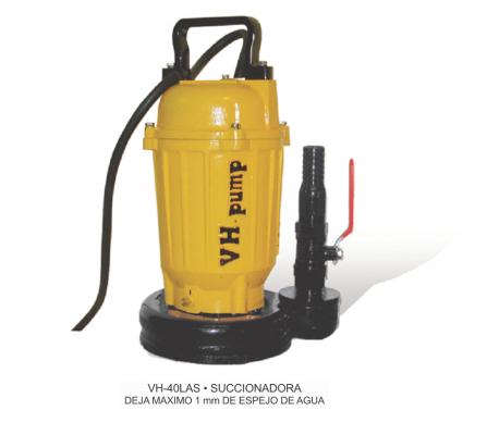 """VH-40LAS Bomba sumergible succionadora para agua con residuos grasa y comida, Marca VH-Pump, 1"""", 1 Fase, 115 Volts, 0.5 Hp"""
