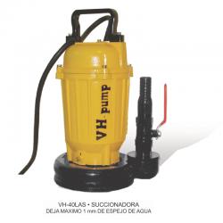 """VH-75LAS Bomba sumergible succionadora para agua con residuos grasa y comida, Marca VH-Pump, 1"""", 1 Fase, 115 Volts, 1 Hp"""
